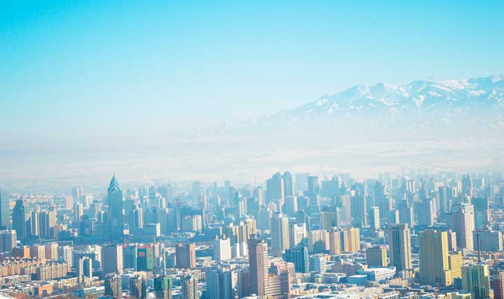 Urumqi is the largest and capital city of the Xinjiang Uyghur Autonomous Region, in China.